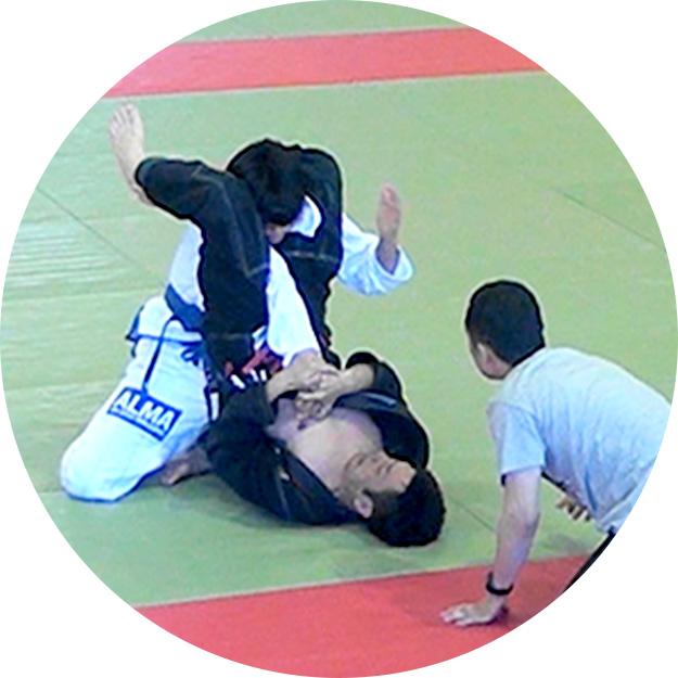 総合格闘技の試合